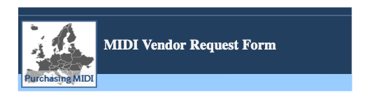 Download Vendor Request Form
